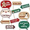 Funny Christmas - Christmas 10 Piece Photo Booth Props Kit