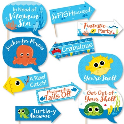 Under The Sea Critters Baby Shower Theme Bigdotofhappinesscom