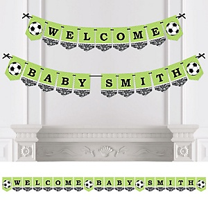 GOAAAL! - Soccer - Baby Shower or Birthday Party Bunting Banner - Party Decorations - Pass Kick Goal Soccer