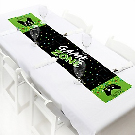 Game Zone - Personalized Pixel Video Game Party Petite Table Runner