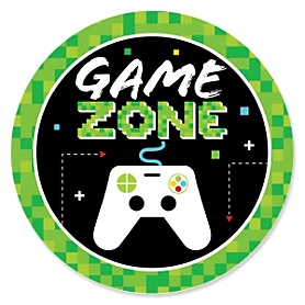 Game Zone - Pixel Video Game Party or Birthday Party Theme