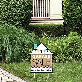 Garage Sale - Outdoor Lawn Sign - Yard Sign - 1 Piece