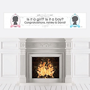 Gender Reveal - Personalized Party Banners