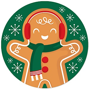 Gingerbread Christmas - Gingerbread Man Holiday Party