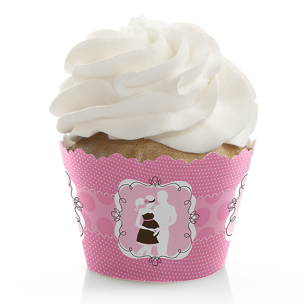Pink Baby Shower Cupcake Wrappers - drive.cheapusedmotorhome.info