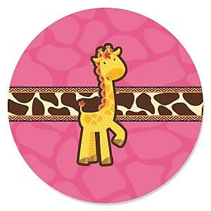 Giraffe Girl - Baby Shower Theme