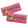Giraffe Girl - Personalized Birthday Party Candy Bar Wrapper Favors