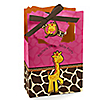 Giraffe Girl - Personalized Birthday Party Favor Boxes