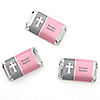 Little Miracle Girl Pink & Gray Cross - Personalized Baptism Mini Candy Bar Wrapper Favors - 20 ct