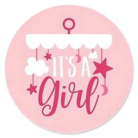 It's a Girl - Pink Baby Shower Theme