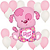 Puppy Girl - Birthday Party Balloon Kit