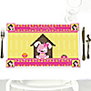 Girl Puppy Dog - Personalized Birthday Party Placemats