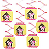 Girl Puppy Dog - Birthday Party Hanging Decorations - 6 ct