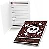 Skullicious™ - Girl Skull - Birthday Party Fill In Invitations - 8 ct