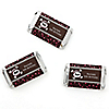 Skullicious™ - Girl Skull - Personalized Birthday Party Mini Candy Bar Wrapper Favors - 20 ct