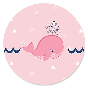 Tale Of A Girl Whale - Baby Shower Theme