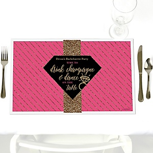 Bridal Shower Placemats