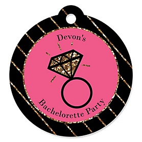 Girls Night Out - Personalized Bachelorette Party Tags - 20 ct
