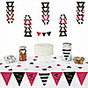 Girls Night Out -  Triangle Bachelorette Party Decoration Kit - 72 Piece