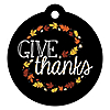 Give Thanks - Thanksgiving Party Tags - 20 ct