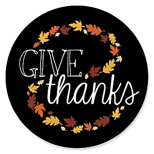 Give Thanks - Thanksgiving Party Theme