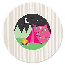 Let's Go Glamping - Camp Glamp Party Theme