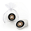 Tassel Worth The Hassle - Gold - Personalized Graduation Lip Balm Favors - Set of 12