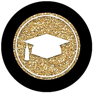 Tassel Worth The Hassle - Gold - Graduation Theme