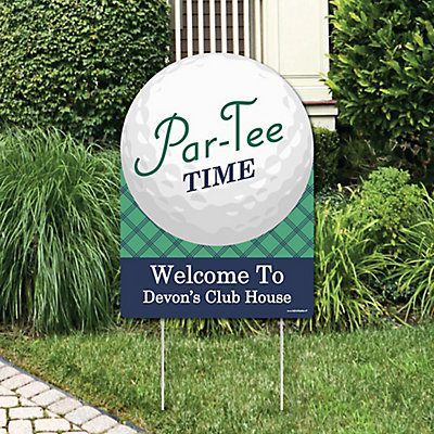 Par Tee Time Golf Party Decorations Birthday Party Or Baby