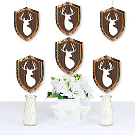 Gone Hunting - Decorations DIY Deer Hunting Camo Party Essentials - Set of 20