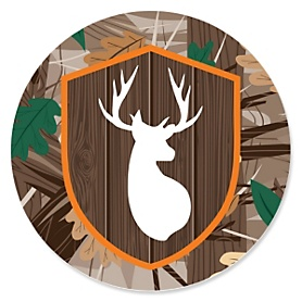 Gone Hunting - Deer Hunting Camo Party Theme