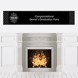 Graduation Cheers - Personalized 2020 Graduation Banner