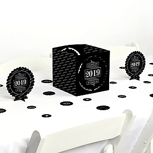 Graduation Cheers - 2019 Graduation Party Centerpiece & Table Decoration Kit