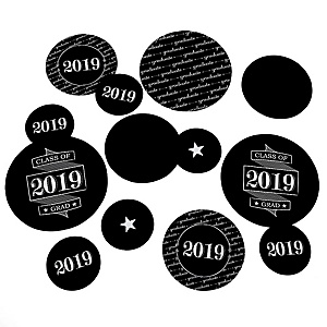 Graduation Cheers - 2019 Graduation Party Table Confetti - 27 ct