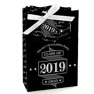 Graduation Cheers - Personalized 2019 Graduation Favor Boxes - Set of 12