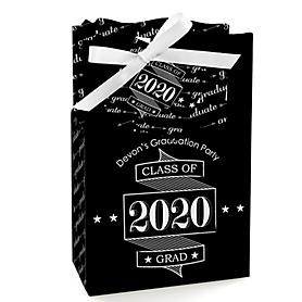 Graduation Cheers - Personalized 2020 Graduation Favor Boxes - Set of 12
