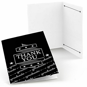 Graduation Cheers - Graduation Party Thank You Cards - 8 ct