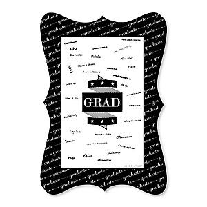 Graduation Cheers - Unique Alternative Guest Book - Graduation Party Signature Mat