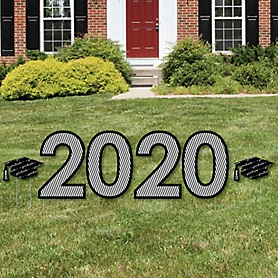 2020 - Graduation Cheers - Yard Sign Outdoor Lawn Decorations - Graduation Party Yard Signs