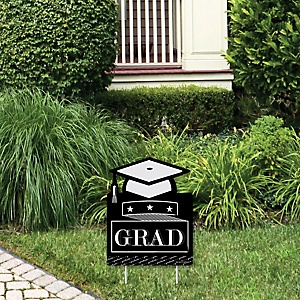 Graduation Cheers - Outdoor Lawn Sign - Graduation Party Yard Sign - 1 Piece