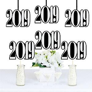 Graduation Cheers - 2019 Decorations DIY Party Essentials - Set of 20