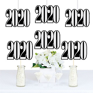 Graduation Cheers - 2020 Decorations DIY Party Essentials - Set of 20