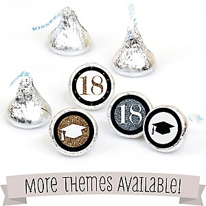 Graduation Hershey Kisses Labels