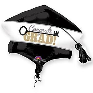 "Congrats Grad - Key to Success Graduation Party Mylar Balloon - 31"""