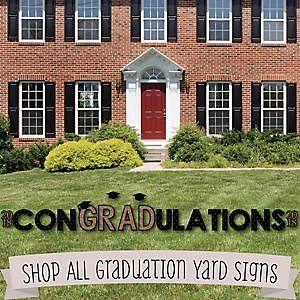 Graduation Yard Signs - Lawn Ornament Decorations