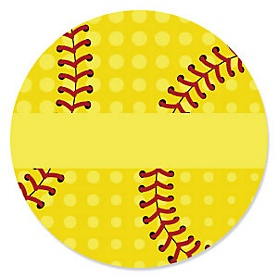 Grand Slam - Fastpitch Softball - Birthday Party Theme
