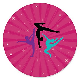 Tumble, Flip & Twirl - Gymnastics Party Theme