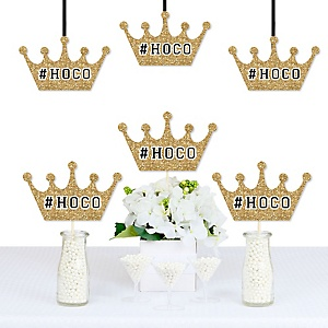 HOCO Dance -  Crown Decorations DIY Homecoming Party Essentials - Set of 20