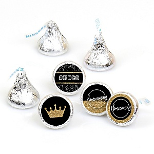 HOCO Dance - Round Candy Labels Homecoming Favors - Fits Hershey Kisses - 108 ct