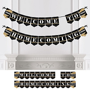 HOCO Dance - Personalized Homecoming Bunting Banner & Decorations